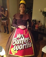 Mrs. Butterworth Homemade Costume