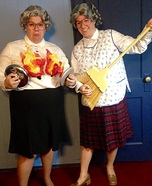 Mrs. Doubtfire Homemade Costumes