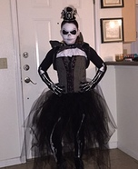 Mrs. Jack Skellington Homemade Costume