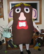 Mrs Potato Head Homemade Costume
