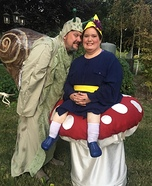Mrs. Rosebud and Slimy Costume