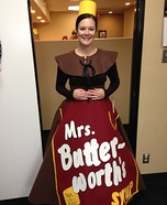 Mrs. Butterworths Homemade Costume