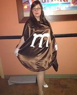 Ms. Brown M&M's Homemade Costume