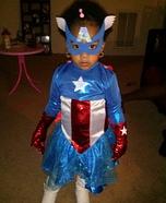 Ms. Captain America Costume