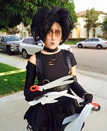 Ms. Edward Scissorhands Homemade Costume