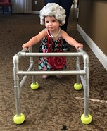 Ms. Granny Homemade Costume