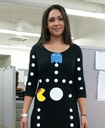 Ms. Pacman Game Homemade Costume