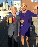 Ms. Trump & Mr. Hilary Homemade Costume
