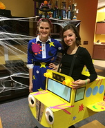 Ms.Frizzle and The Magic School Bus Homemade Costume