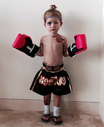 Muay Thai Boxer Homemade Costume
