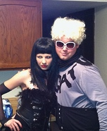 Mugatu and Katinka from Zoolander Homemade Costume