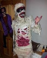 Mummified Homemade Costume