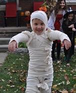 DIY Mummy Boy Costume