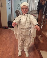 Mummy Boy Homemade Costume