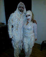 Mummy Love Couple Homemade Costume