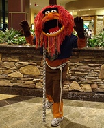 Homemade Muppets Animal costume