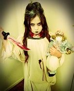 Murdering Ghost Girl Homemade Costume