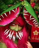 Mutant Venus Flytrap Homemade Costume