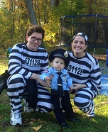 Parent and baby costume ideas - My First Arrest Costume