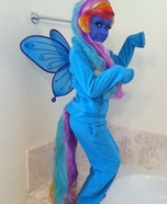 My Little Pony Rainbow Dash Homemade Costume