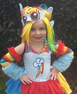 My Little Pony Rainbow Dash Costume DIY
