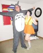 My Neighbor Totoro Homemade Costume