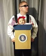 Mya for President Homemade Costume