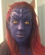 Mystique Homemade Costume