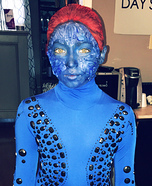 Girl's Mystique Costume