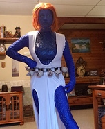 Mystique Homemade Costume