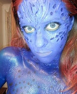 Mystique from X-Men Homemade Halloween Costume