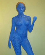 Mystique from X-Men Homemade Costume