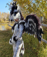 Mythical Lightning Creature Homemade Costume