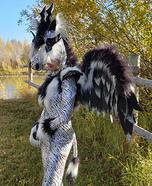 Mythical Lightning Creature Homemade Costume