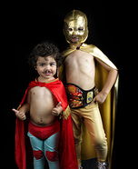 Nacho Libre Homemade Costume