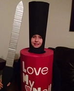 Nail Polish and File Homemade Costume