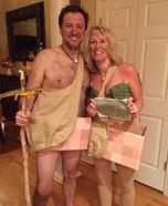 Naked and Afraid Homemade Costume