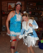 Nancy Kerrigan & Tonya Harding Couple Costume