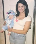 Nani and Stitch Homemade Costume