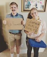 Napoleon Dynamite Deb and Kip Homemade Costume