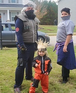 Naruto Team 7 Members Homemade Costume