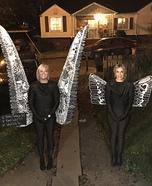 Nashville Wings Mural Homemade Costume