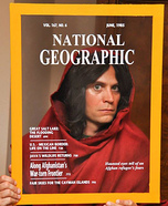 National Geographic Cover: Afghan Girl Homemade Costume