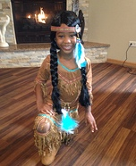 Native Indian Girl's Costume