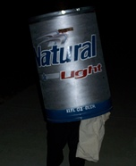 Natty Light Can Costume