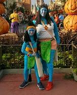 Na'vi and Avatar Homemade Costume