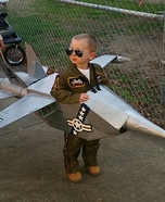 Navy Jet Homemade Costume