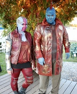 Nebula and Yondu Homemade Costume
