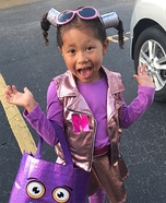 Nebula: Zenon, Girl of the 21st Century's best friend Homemade Costume