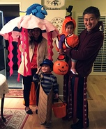 Nemo Family Homemade Costume